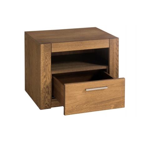 Velvet 79 One drawer bedside table