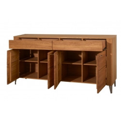 Latina 45 Four door chest of drawers with Two drawers