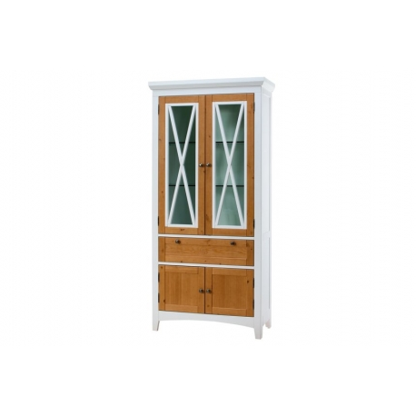 AVIGNON 12 Four-doors display unit with 1 drawer