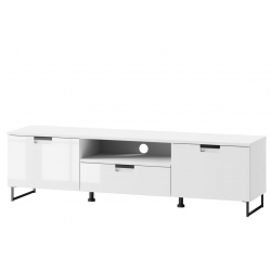Megan 05 Two-door TV cabinet with one drawer