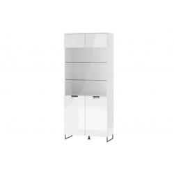Megan 07 High 2-door display cabinet