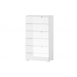 Selene 3 Six drawer sideboard