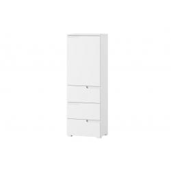 Selene 11 One-door 3 drawer cabinet