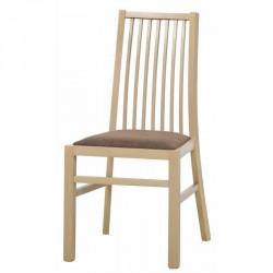 Kolekcja  Mars krzesło tapicerowane w tkaninie typu 005 kolor dąb sonoma