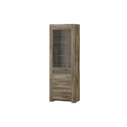 Belveder 10 single-door display cabinet