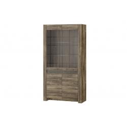 Belveder 12 two-door display cabinet