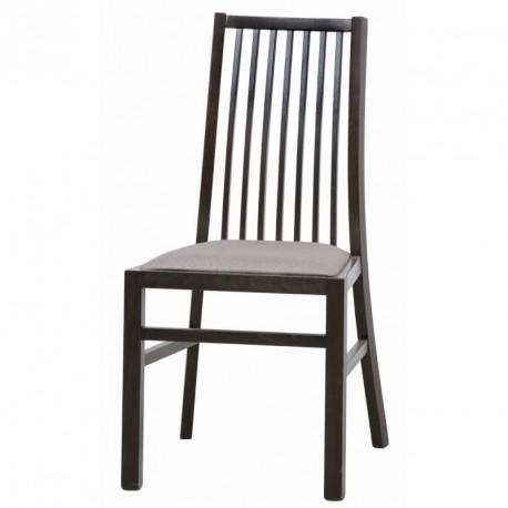 Kolekcja  Mars krzesło tapicerowane w tkaninie typu 018 kolor wenge