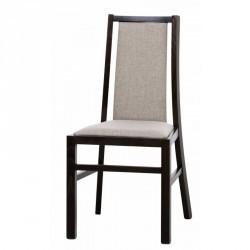 Collection Mars  upholstered chair with fabric - 018 colour wenge