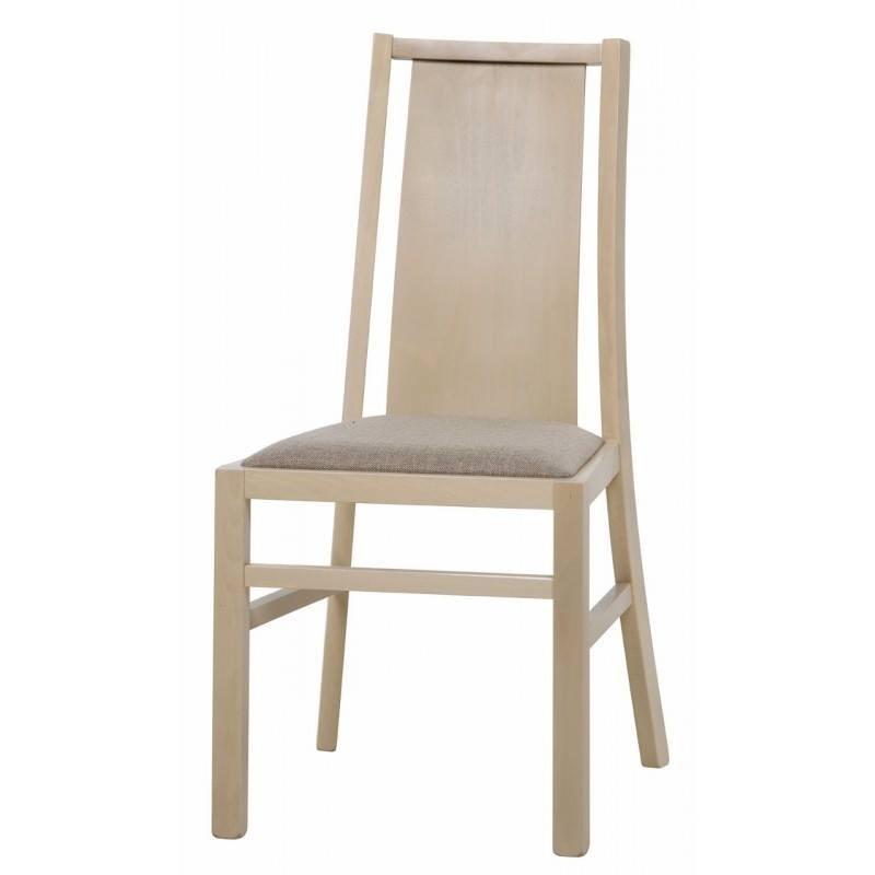 Kolekcja  Mars krzesło tapicerowane w tkaninie typu 612 kolor dąb sonoma