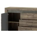 Belveder 46 Two - door sideboard with 3 drawer