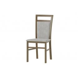 Belveder 101 Krzesło bukowe z siedziskiem i oparciem tapicerowanym