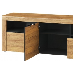 Kama 25 One door TV unit with 2 drawers