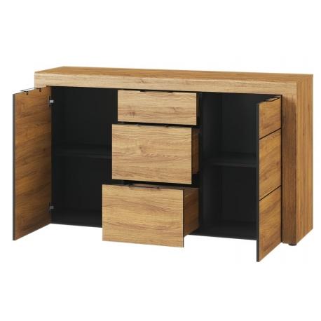Kama 45 Komoda 2-drzwiowa z 3 szufladami