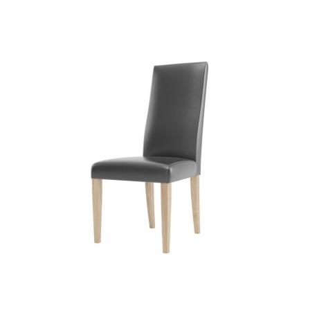 KAMA 101 Krzesło bukowe z siedziskiem i oparciem tapicerowanym
