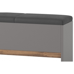 Livorno 65 bench with container