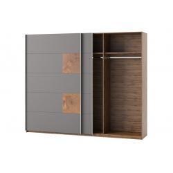 Livorno 72 szafa 2 drzwiowa, drzwi przesuwne 270x225x60 cm