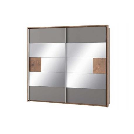 Livorno 73 Two-door wardrobe (sliding doors with mirror)