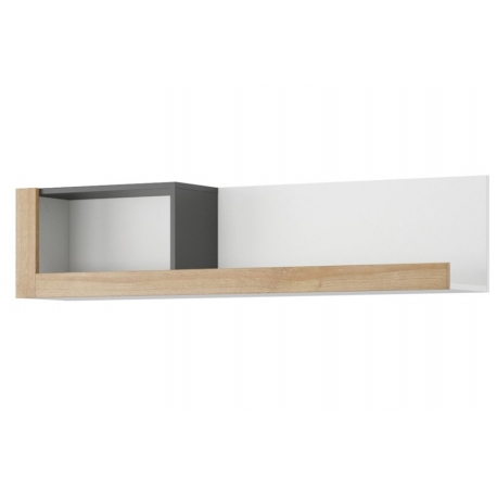 Riva 35 hanging wall shelf