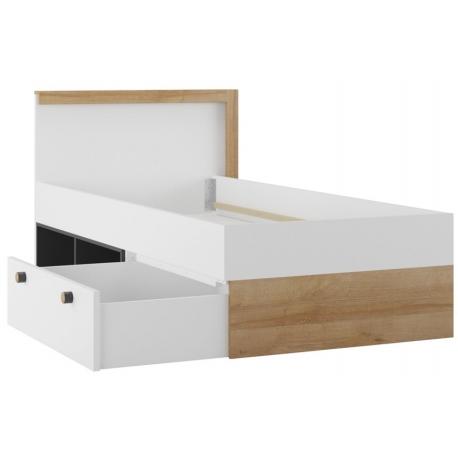 Riva 50 Łóżko z szufladą i regałem