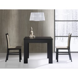 Collection Saturn  upholstered chair with fabric - 004, colour wenge