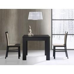 Kolekcja  Saturn krzesło tapicerowane w tkaninie typu 004, kolor wenge