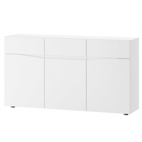Lucca 01 Three-door chest of 3 drawers
