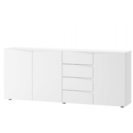 Lucca 03 Three-door chest of 4 drawers