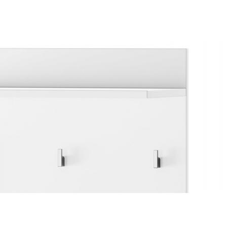 Lucca 09 Panel - półka z wieszakami