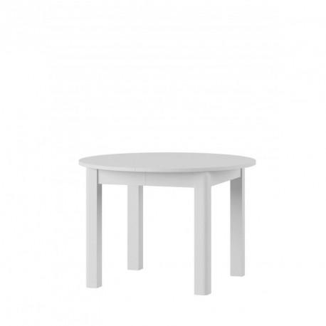 Kolekcja Uran  stół rozkładany kolor biały mat.