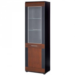 Collection Vievien 1 door display unit L (optional lighting)