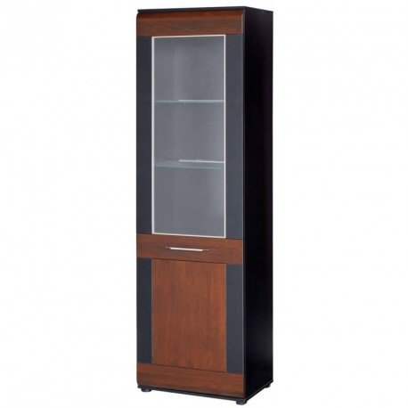 Collection Vievien 1 door display unit R (optional lighting)