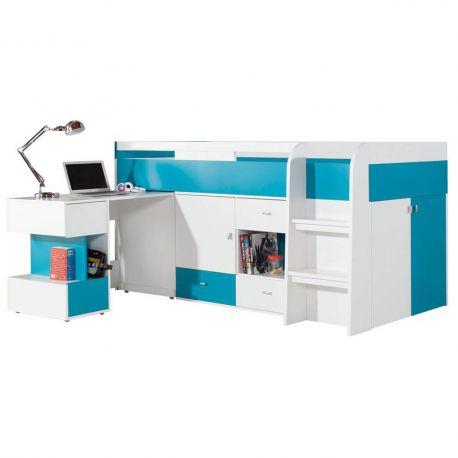 Łóżko Mobi 21 z biurkiem