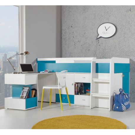 Mobi Bed with a desk