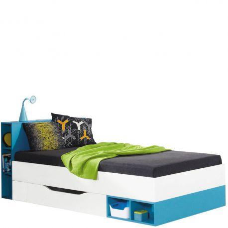 Łóżko ze stelażem Mobi MO18