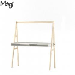 Desk Table with Shelves Magi
