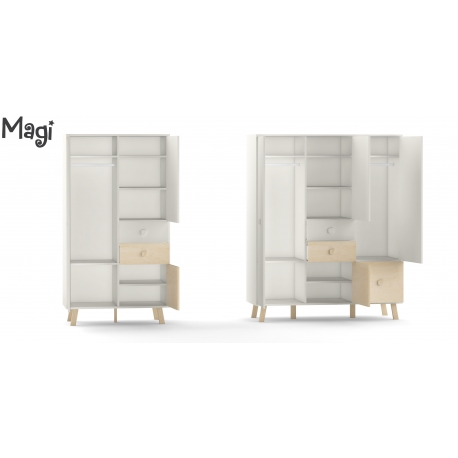 Three Door Wardrobe Magi