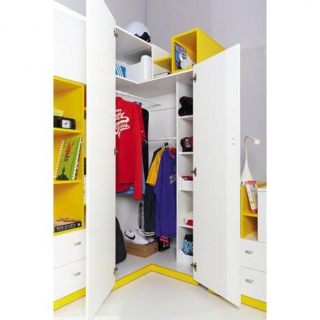 Mobi corner wardrobe MO1