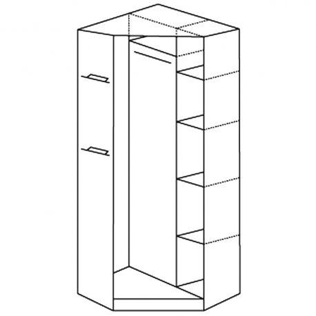 Mega corner wardrobe ME8