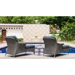 Monte Carlo Relax Lounger with Cushion