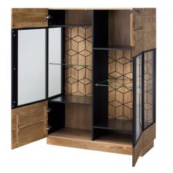 MOSAIC 15, 2-doors display unit optional lighting