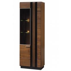 PORTI 10 шкаф стеклянный левый