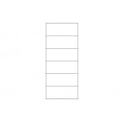 Collection Torino 2 door display unit L (optional lighting)