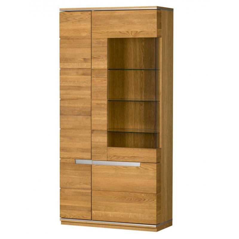 Kolekcja Torino witryna 3-drzwiowa (oświetlenie opcjonalne)