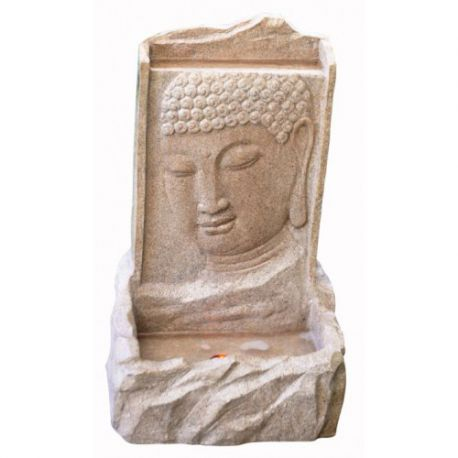 Фонтан Sandstone Buddha on Wall H 56cm