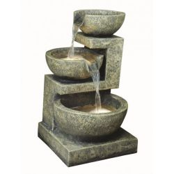Fontanna,kaskada Small Granite 3 Bowl 49cm