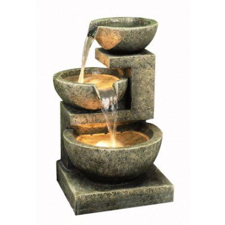 Fontanna,kaskada Medium Granite 3 Bowl 62cm