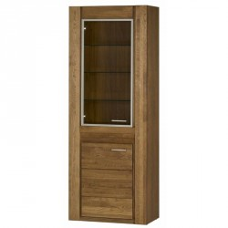 Collection Velvet 2 door display unit L (optional lighting)