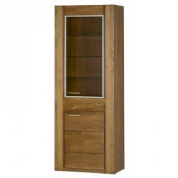 Collection Velvet 2 door display unit R (optional lighting)