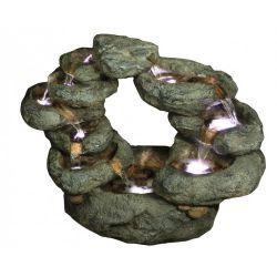 71cm 10 Fall Oval Rock