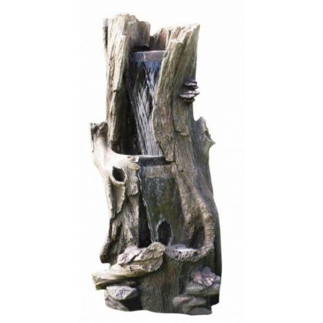 Фонтан, каскад Tree Trunk 2 Level Waterfall 104cм